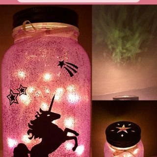DIY Mason Jar Fairy Lantern