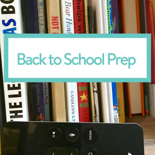 Back to School Prep: books & movies