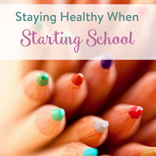 Staying Healthy When Starting School