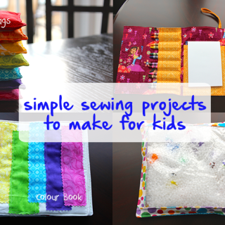 4 Simple Sewing Projects to Make for Kids