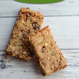 Dairy Free Chewy Granola Bars