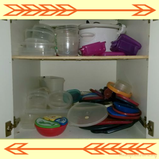 Organize Your Tupperware Cupboard (And Never Deal with That Mess Again!)