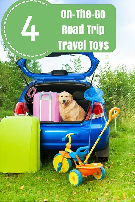 4 On The Go Road Trip Travel Toys