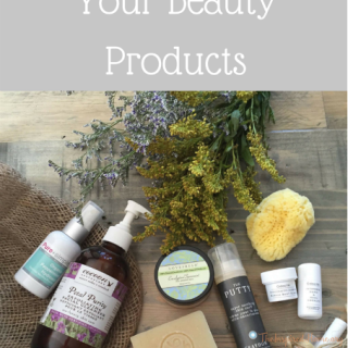 Going Green with Your Beauty Products