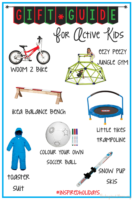 gift guide for active kids