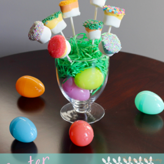 Easter Dipped Marshmallows