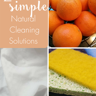 2 Simple Natural Cleaning Solutions
