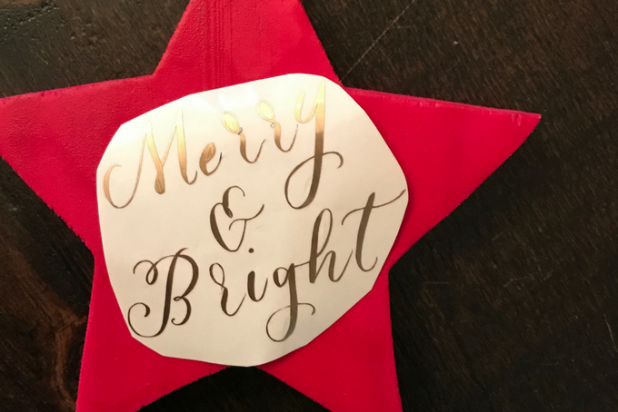 TheInspiredHome.org // Easy Star Ornament