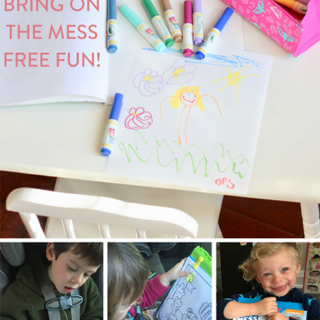 Colouring with Kids, Bring on the Mess Free Fun!