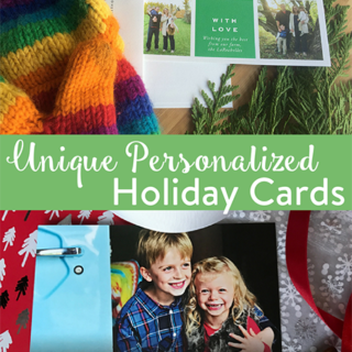 Unique Personalized Holiday Cards
