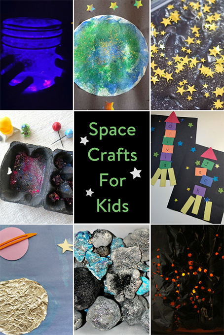TheInspiredHome.org // Space Crafts For Kids