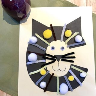 Letter C Crafts: C is for Cat