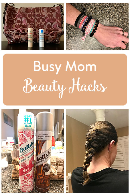 TheInspiredHome.org // Here are a few quick and simple beauty hacks for busy moms. I'm here to help you avoid being that Hot Mess Mom at morning drop-off.