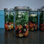 TheInspiredHome.org // To Go Salad Jars