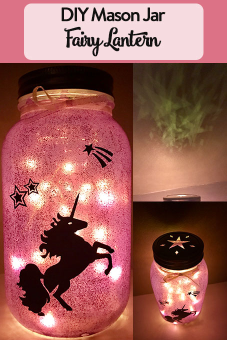 TheInspiredHome.org // Making a mason jar fairy lantern couldn't be easier. You only need a few simple items to make a beautiful jar customized to your liking.