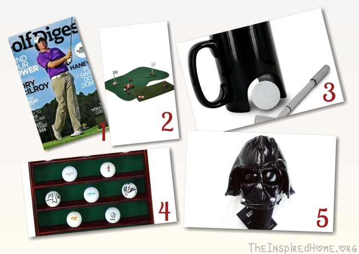 Gifts for Dad: Golf Gifts