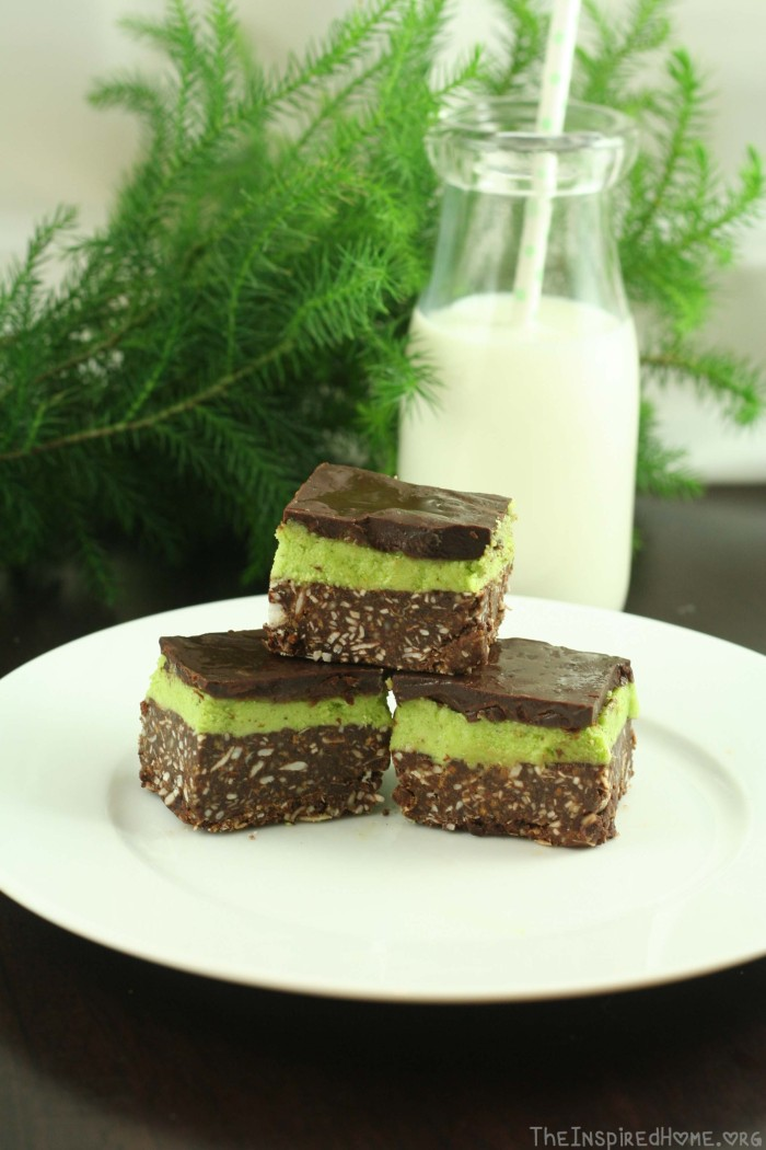 Mint Nanaimo Bar