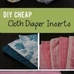DIY Cheap Cloth Diaper Inserts sm