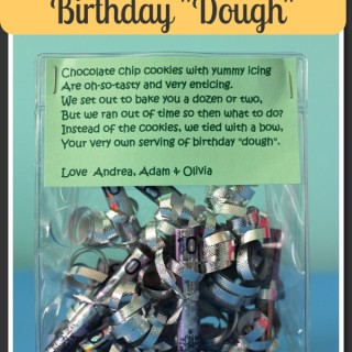 DIY Gift-Giving: Birthday Dough