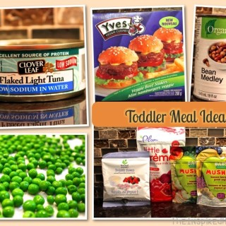 Scrumptious Saturday: Toddler Meal Ideas