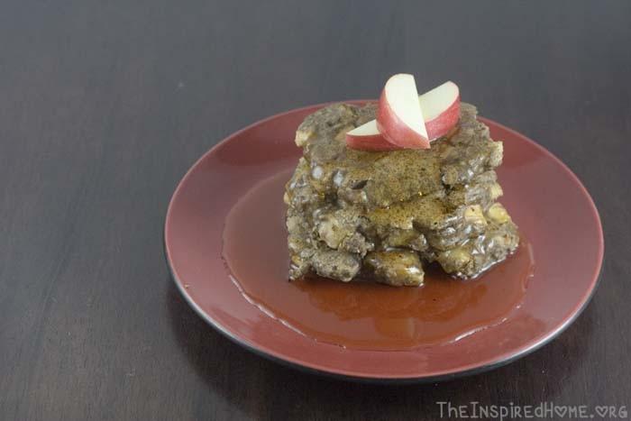 Apple Cinnamon Gluten-Free Pancakes