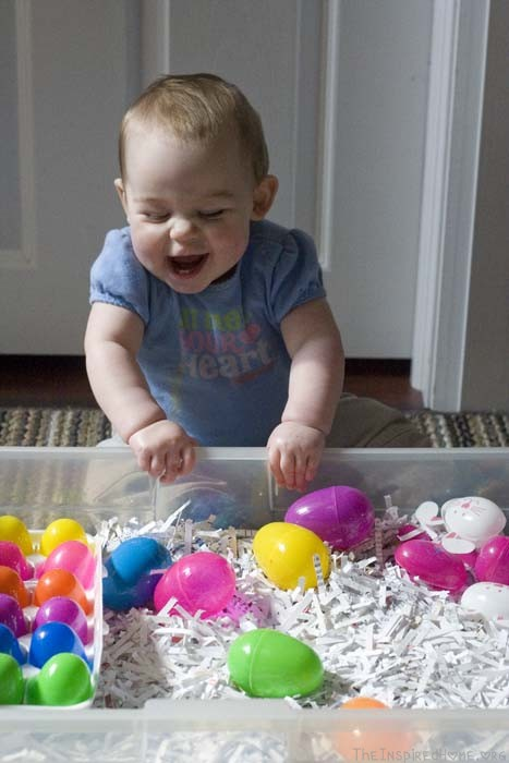 Easter Sensory Bin Ms P Goes First