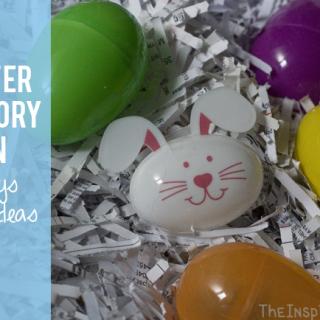 Easter Sensory Bin: 2 Ways & Play Ideas