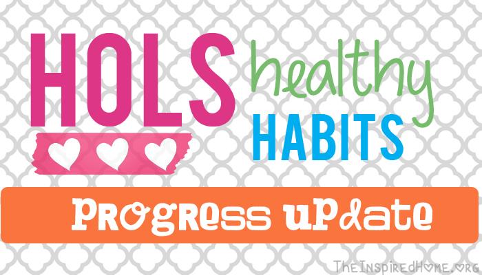 Hols Healthy Habits: Lose Weight progress