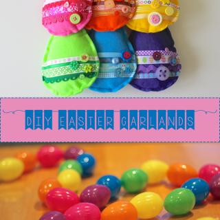 DIY Easter Garlands