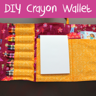 DIY Crayon Wallet