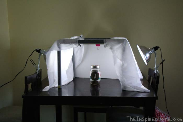 TheInspiredHome.org // Simple DIY Light Tent