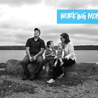 Working, working, working mom guilt