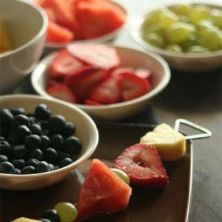 Simple Rainbow Fruit Kabobs