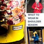 TheInspiredHome.org // Kids Outdoor Wear for Shoulder Season, featuring a review of Stonz Bootz.