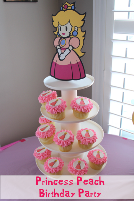 TheInspiredHome.org // Princess Peach from Super Mario Birthday Party Theme Ideas