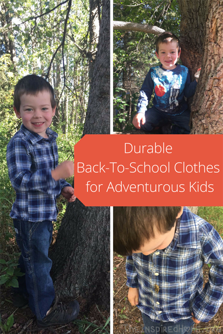 Durable Back-To-SchoolClothes for
