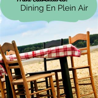 Mini-Adventures: Dining En Plein Air
