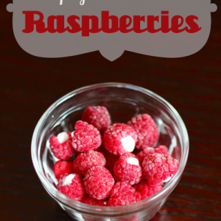 Yogurt-Filled Raspberries