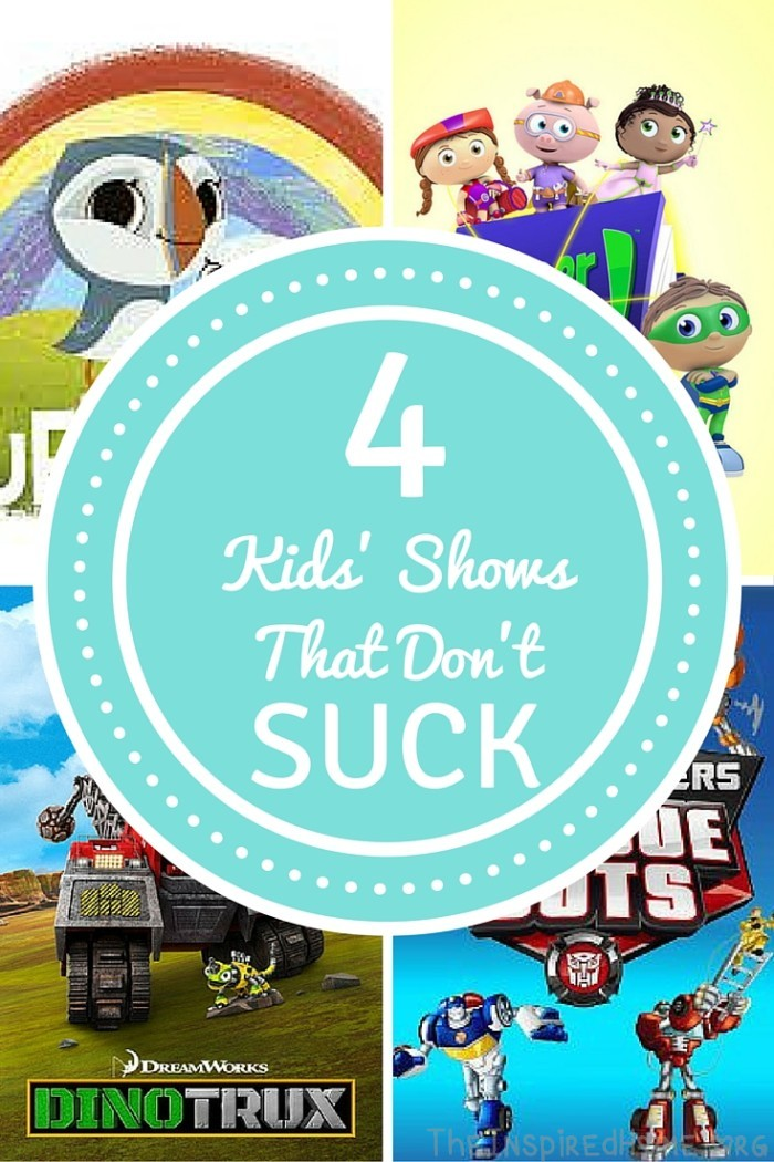 TheInspiredHome.org // 4 Kids' Shows That Don't Suck. Tired of whining Caillou? Singing the Bubble Guppies song word-for-word? Tired of Dora staring you down? Try out these 4 new favourites from @Netflix_Canada. #StreamTeam