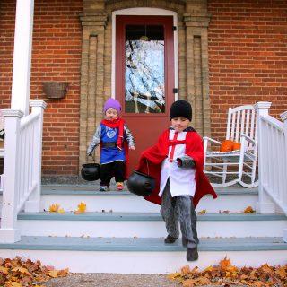 9 DIY Last-Minute Halloween Costumes