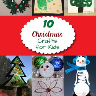 10 Christmas Decor Crafts for Kids