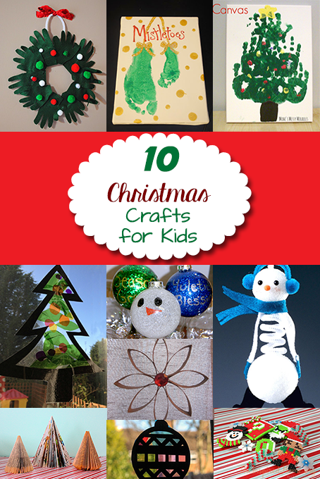 10 Christmas Decor Crafts for Kids • The Inspired Home