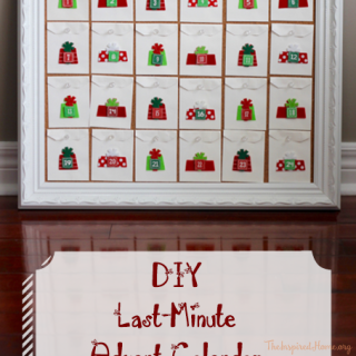 Last-Minute DIY Advent Calendar