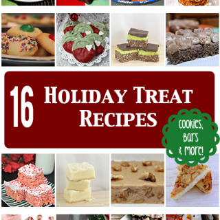 16 Holiday Treat Recipes {Roundup}