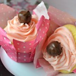 Chocolate Cherry Cupcakes make perfect classroom treats for Valentine's Day
