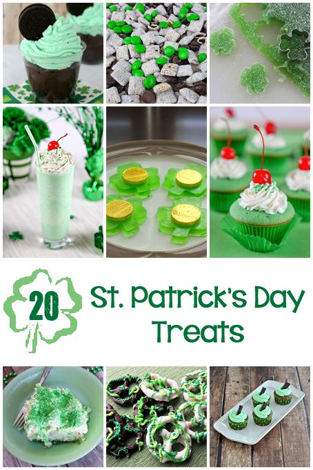 TheInspiredHome.org // 20 St Patricks Day Desserts: delicious treats for everyone!
