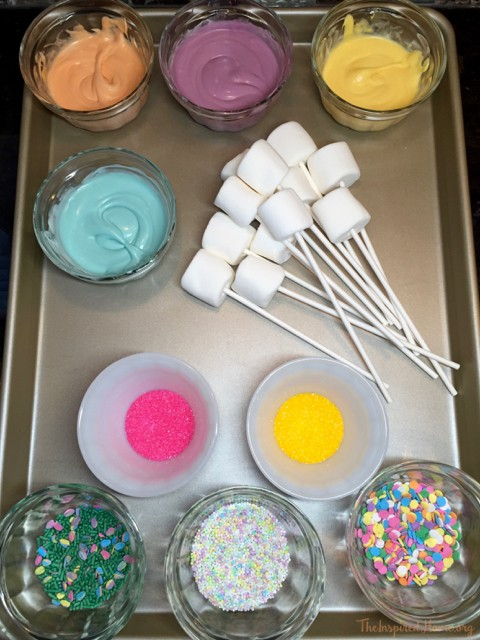 dipped marshmallows - 10