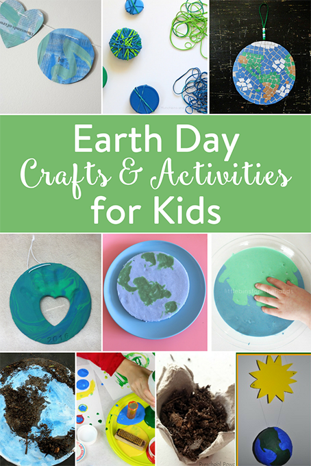 TheInspiredHome.org // Earth Day Crafts & Activities for Kids