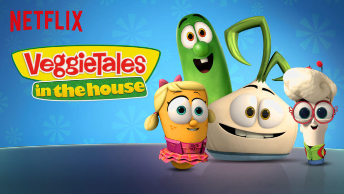 theinspiredhome.org// Tough talks with Netfix Veggie Tales
