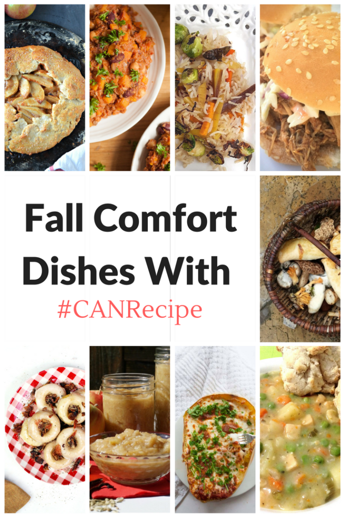 Fall Comfort Dishes With (1)